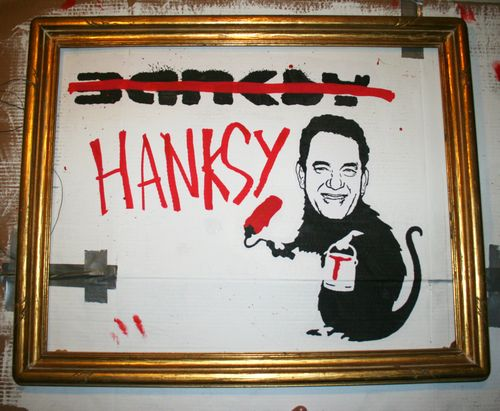 Banksy-HANKSY